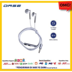 Harga earphone oase md m5 mic original mdm5 garansi oppo handsfree   HARGALOKA.COM