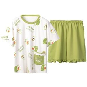 Harga baju tidur piyama wanita yumico bahan import kaos ht     HARGALOKA.COM