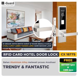 Harga cx77s e guard kunci kamar hotel kunci pintu digital door lock   | HARGALOKA.COM