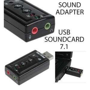 Harga usb soundcard 7 1 channel   external speaker   sound | HARGALOKA.COM