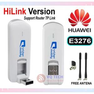 Harga modem huawei e3276 4g lte speed 150mbps unlock bisa semua | HARGALOKA.COM