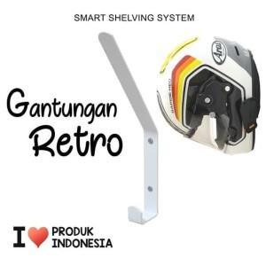 Harga Gantungan Helm Rak Helm Tempat Helm Double Katalog.or.id