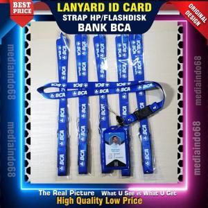 Harga bank bca lanyard id card gantungan id card paket murah | HARGALOKA.COM
