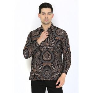 Harga adinata batik ganendra kemeja panjang batik     HARGALOKA.COM
