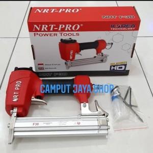 Harga air nailer gun staples steples mesin paku tembak f30 nrt pro | HARGALOKA.COM