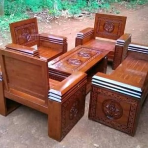 Harga kursi jati jepara 2111 model koper | HARGALOKA.COM