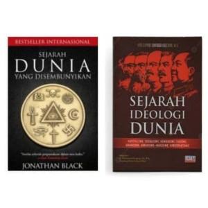 Harga sepaket buku sejarah dunia yang disembunyikan amp sejarah ideologi | HARGALOKA.COM