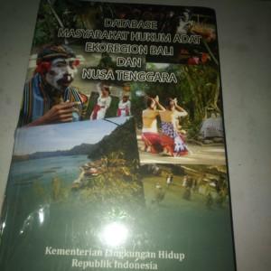 Harga buku database masyarakat hukum adat ekoregional bali dan nusa   HARGALOKA.COM
