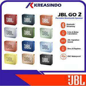Harga jbl go 2 go2 speaker portable bluetooth original resmi ims     HARGALOKA.COM