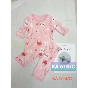 Harga baju anak perempuan usia   4   6 tahun   bunny 3 4 | HARGALOKA.COM