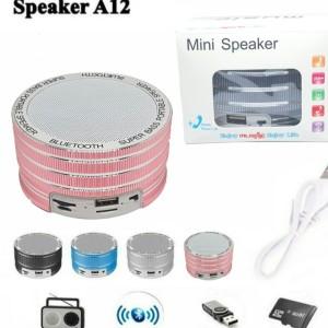 Harga speaker bluetooth portable metal wireless speker mini music box   HARGALOKA.COM