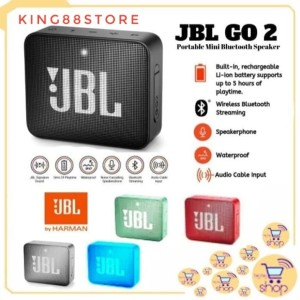 Harga termurah speaker bluetooth jbl go2 portable wireles speaker   | HARGALOKA.COM