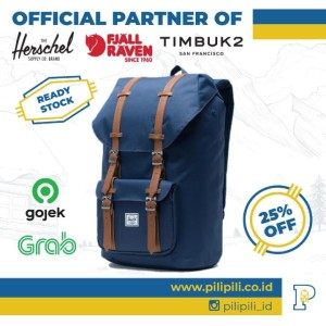 Harga herschel original little america backpack navy | HARGALOKA.COM