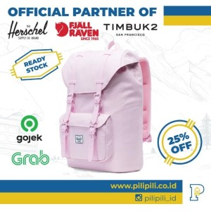 Harga herschel original little america mid 17l backpack pink lady | HARGALOKA.COM