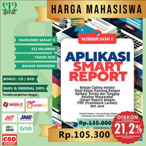 Harga termurah original buku aplikasi smart report dvd   nazruddin | HARGALOKA.COM