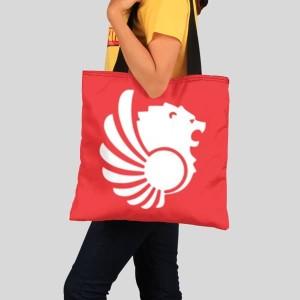 Harga tas tote bag lion air full print tote bag pesawat lion | HARGALOKA.COM