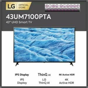 Harga lg 43um7100 smart tv uhd 4k ai thinq tv lg   HARGALOKA.COM