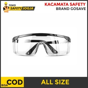 Info Grosir Kacamata Safety Smoke Clear Hitam Katalog.or.id