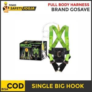 Harga safety belt full body harness single big hook eco   HARGALOKA.COM