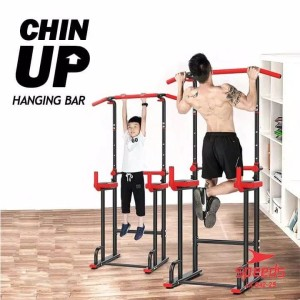 Harga pull up stand chin up pull up bar alat fitness rumah speeds gym | HARGALOKA.COM
