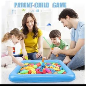 Harga mainan pancing ikan anak anak 32pcs kolam | HARGALOKA.COM