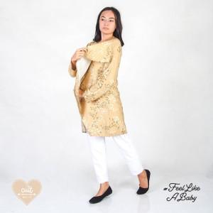 Harga cuit dress hamil menyusui tunik   minori | HARGALOKA.COM