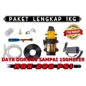 Harga paket lengkap ongkir 1kg pompa air funshui 200psi steam jet   HARGALOKA.COM