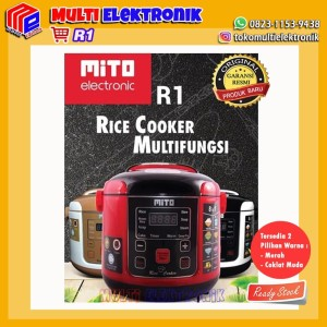 Harga mito digital rice cooker 1l 8in1 magic com mito   | HARGALOKA.COM