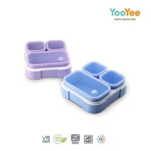 Harga tempat makan yooyee 3 sekat 636 original anti tumpah bocor 70ml   | HARGALOKA.COM