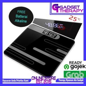 Harga taffware timbangan berat badan digital baterai indikator suhu | HARGALOKA.COM