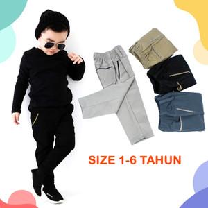 Harga celana panjang anak cowok laki laki chino murah   hitam | HARGALOKA.COM