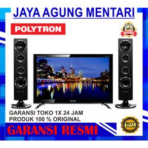 Harga tv led polytron 24t8511 24 inch | HARGALOKA.COM