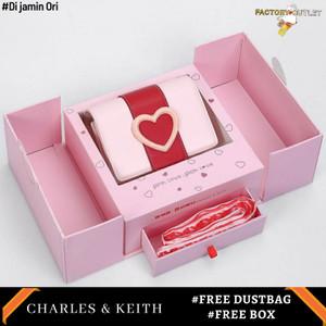 Harga tas wanita charles and keith precious original store gift set   | HARGALOKA.COM