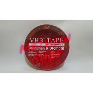 Harga 3m vhb tape double tape 12 mm x 4 5 m asli perekat merah 3 m | HARGALOKA.COM