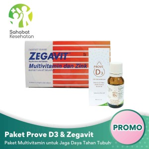 Harga paket prove d3 amp zegavit   multivitamin untuk jaga daya tahan | HARGALOKA.COM