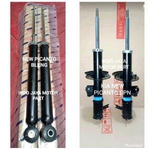 Harga shockbreaker shock absorber kia new picanto depan belakang | HARGALOKA.COM