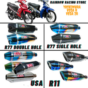 Harga knalpot racing yamaha vega zr dan vega r yoshimura   | HARGALOKA.COM