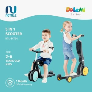 Harga notale dolemi series 5 in 1 multifunctional scooter kids sepeda lipat     HARGALOKA.COM
