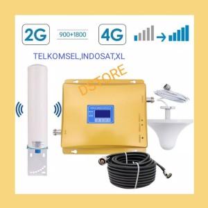 Harga repeater boster antena penambah penguat sinyal hp gsm 2g dcs 4g   HARGALOKA.COM