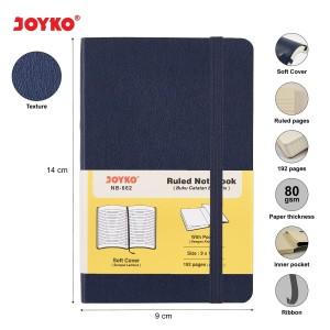 Harga ruled notebook diary agenda buku catatan bergaris joyko nb 662 192 hal   | HARGALOKA.COM