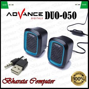 Harga advance duo 050 speaker 2 0 mini channel usb audio pc laptop hp | HARGALOKA.COM