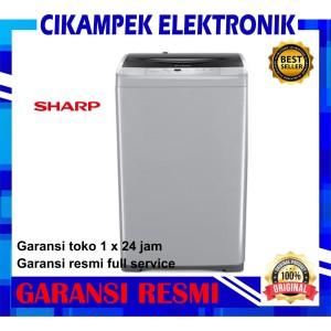 Harga mesin cuci sharp 1 tabung es f950p gy   HARGALOKA.COM