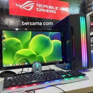 Harga pc gaming core i7 ssd 120 gb harddisk 1 tera vga ddr 5 ram 8 | HARGALOKA.COM