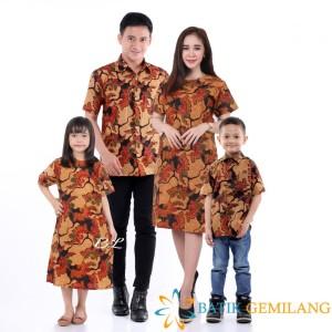 Harga couple batik keluarga mama papa dan anak seragam keluarga kemeja | HARGALOKA.COM