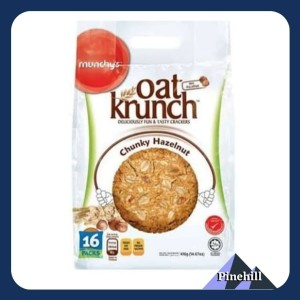 Harga munchy oat krunch chucky hazelnut   munchy 39 s krakers kacang | HARGALOKA.COM