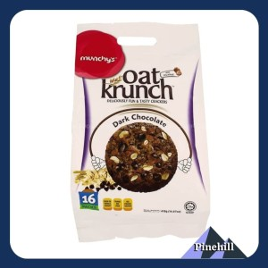 Harga munchy 39 s oat krunch dark chocolate   munchy biskuit gandum | HARGALOKA.COM
