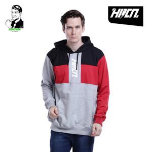 Harga sweater hoodie pria hrcn distro premium original murah   abu abu | HARGALOKA.COM
