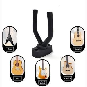 Harga stand gitar biola ukulele bass   guitar hanger hook holder wall   HARGALOKA.COM