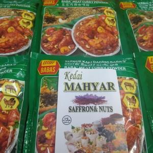 Harga bumbu kari daging babas serbuk baba meat curry powder malay 125gram | HARGALOKA.COM