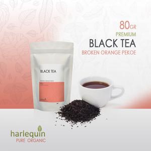 Harga teh hitam premium 80 gram black tea broken orange | HARGALOKA.COM